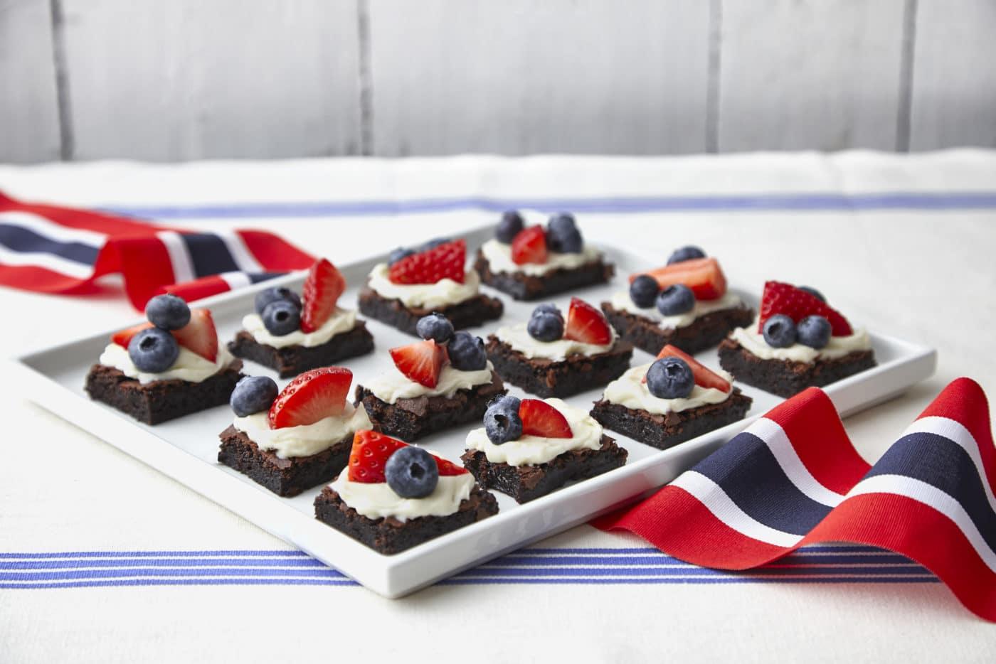 17.Mai Brownies