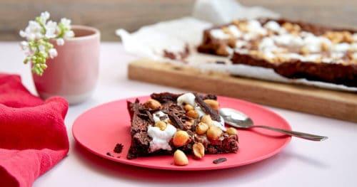Brownies - søtt og salt