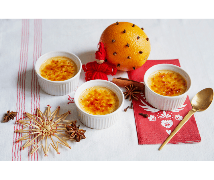 Crème brûlée jul