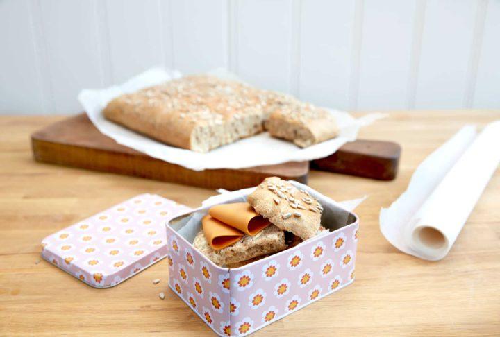 Grovt brød til matpakken