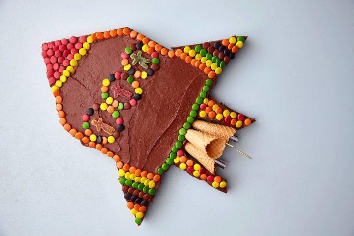 Sjokoladekake - Romskip