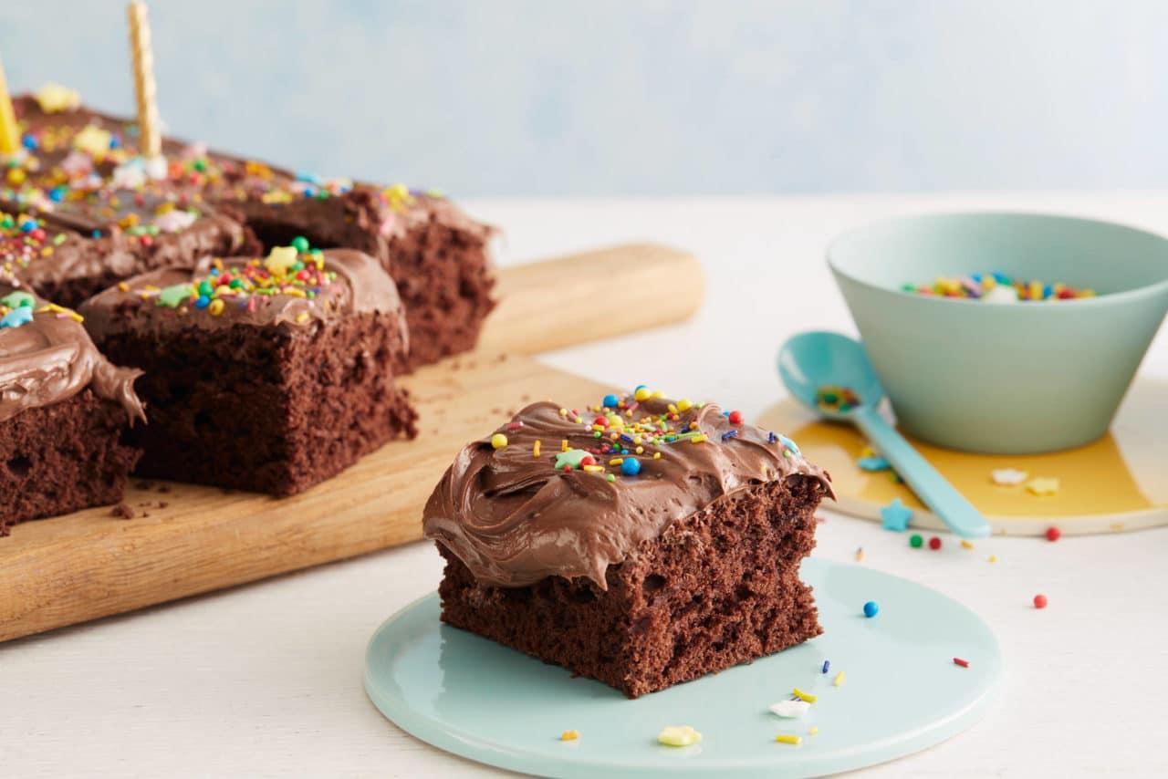 bilde av glutenfri sjokoladekake
